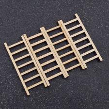 Mini Treppenleiter Puppenhaus Dekoration DIY Handarbeit 4 Stk. Holz Spielzeug