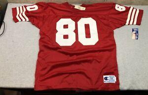 Vintage NEW Champion San Francisco 49ers #80 NFL Football Jersey NWT XXL