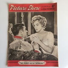 Marilyn MonroePicture Show Magazine July 6th 1957  UK Movie Magazine TPATS Cover