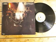 ABBA SUPER TROUPER LP 33T VINYLE EX COVER EX ORIGINAL 1980