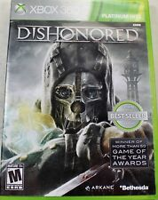 Dishonored (Microsoft Xbox 360, 2012) GAME COMPLETE RATED M MATURE PH