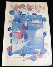THE PEOPLE'S HOME JOURNAL MAGAZINE MAY 1903 VINTAGE FICTION CLOTHING FASHIONS