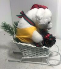 Giorgio Beverly Hills Collectible, Vintage 80's Teddy Bear, Hollywood w/ Basket