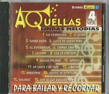 Para Bailar Y Recordar Volume 4 Latin Music CD New