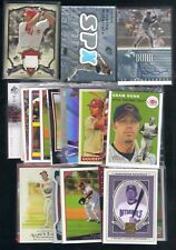 50 ADAM DUNN LOT 2002-2009 UD TOPPS RC AUTO /3482 HERITAGE SPX JERSEY /50  BB