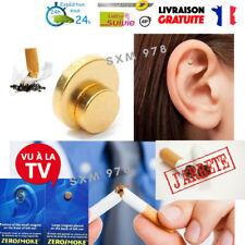 ARRETER DE FUMER 2 AIMANTS AURICULAIRE ZEROSMOKE ANTI TABAC ARRET CIGARETTE STOP