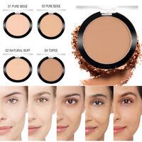 Haut de maquillage de base de poudre pressée soyeux invisible de pores faciaux