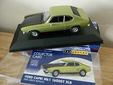 Vanguards Corgi VA13310 Ford Capri MK1 1600GT XLR Fern Green Metallic