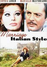 Marriage Italian Style [New DVD] Subtitled