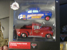 DISNEY PIXAR CARS 3 TWIN PACK FABULOUS HUDSON HORNET & SMOKEY  DISNEY STORE