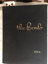 1954 Iowa State Yearbook THE BOMB Ames RARE Find Original Non Smoking/Pet Home