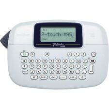 Brother P-touch PTM95 Handy Label Maker 9 Type Styles 8 Deco Mode Patterns