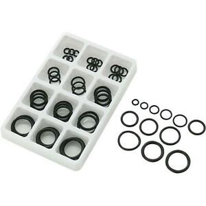 50pc Assorted O RING SET Black Rubber Seals Sink Tap Washers Plumbing Air Gas