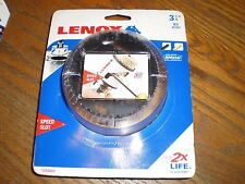 """NEW"" LENOX Speed Slot Bi-Metal Hole Saw 3-1/4"" 83 mm 2 x LIFE #1772023"