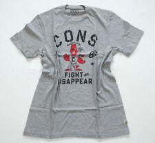 Camisetas de hombre de manga corta gris talla M