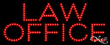 "Brand New ""Law Office"" 27x11 Solid/Animated Led Sign W/Custom Options 20085"
