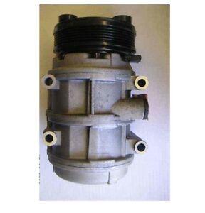 For Mercury Sable 1990 HALLA Remanufactured A/C Compressor w/ Clutch F4OY19703A