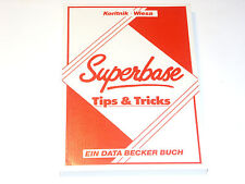 < Superbase Tips & Tricks > Data Becker Buch für Commodore (Z2G023)