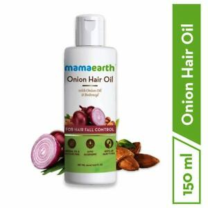 Mamaearth Onion Oil For Hair Growth & Hair Fall Control with Redensyl | 150 ML