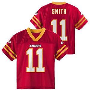 NFL Kansas City Chiefs Alex Smith #11 Youth Red Performance Jersey