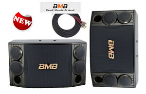 """BMB JAPAN CSD-880 - 1000W - High Power Karaoke Speakers 10"""" (Pair) - Model 2021"""