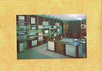 CA Santa Ana & Costa Mesa Stores 1960s era postcard HIGH FIDELITY STORE STEREO