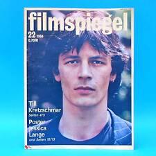 DDR Filmspiegel 22/1984 Capitol Leipzig Jessica Lange Hubert von Meyerinck H