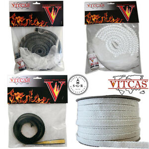 Stove rope, gloves and glue kits or self adhesive sealing tape -for doors/glass