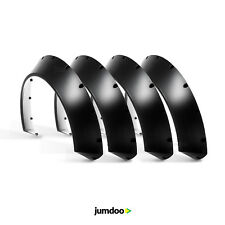 """Universal JDM Fender flares CONCAVE over wide body wheel arches ABS 4.3"""" 4pcs"""