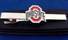 Ohio State Buckeyes Tie Clip OSU College Logo Tie Clasp Gift Idea