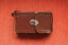 Vintage Kameratasche Leder Braun  Innmaße ca. 17 x 9,5 x 3 cm Voigtländer Bessa