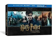 Harry Potter Complete Series Hogwarts Collectors Edition BluRay + DVD Boxed Set