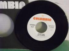 "Santana,Columbia 3-10336,""Let It Shine"",US,7"" 45,White Label PROMO,latin rock,M"