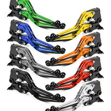 CNC Folding Extending Clutch Brake Levers Pair Adjustable Customize Color T6061