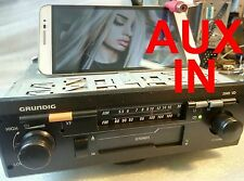 old school vintage car stereo GRUNDIG 2049VD with mp3 - AUX in , VW, SEAT