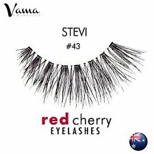 RED CHERRY #43 False Eyelashes BEST SELLER Fake Lashes 100% Human Hair