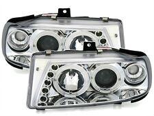 2 OPTIQUES AVANT ANGEL EYES SEAT IBIZA 6K 07/1996-07/1999 CHROME LED