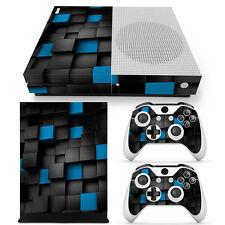 Xbox One S Skin Design Foils Sticker Screen Protector Set - Pixel 2 Motif