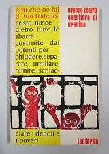 Teatro Quartiere Oregina E TU CHE NE FAI DI TUO FRATELLO ? Lanterna Genova 1973