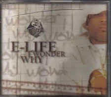 E Life- I wonder why cd maxi single