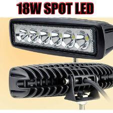 18W 6LED Spot LED Work ATV 4X4 Off Road Light Fog Driving Bar Cree Truck Suv Car