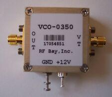 330-370MHz Voltage Controlled Oscillator VCO-0350, SMA