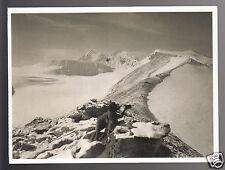 CHOMO LONZO & MAKALU VIEW 1921 British Expedition MOUNT EVEREST PHOTO POSTCARD