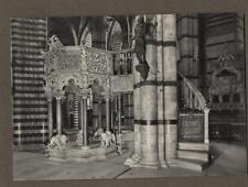 Siena. Cathedral Pulpit Nicolo Pisano. RP  unused  postcard    n.85