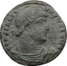 Constantine The Great  327AD Ancient Roman Coin Victory Over Licinius i32663