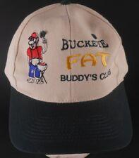 Buckeye Fat Buddy's Club Grill VTG Snapback Adjustable Cap Hat