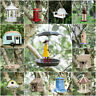 Novelty Bird House Feeder Bath Garden Hanging Nest Box Feeding Station Outdoor