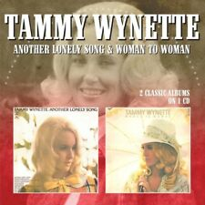 Another Lonely Song / Woman To Woman - Tammy Wynette (2017, CD NEUF)