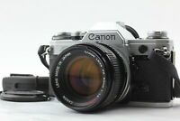 【FOR REPAIR】 Canon AE-1 35mm SLR Camera + FD 50mm F1.4 S.S.C Lens Japan Y148