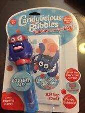 Candylicious Bubbles Bubbles You Can Eat Cherry Flavor 0.67 oz